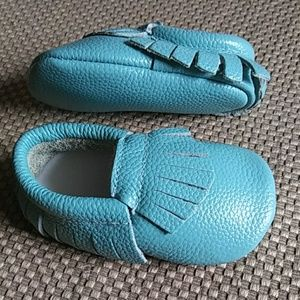 Other - Leather Baby Moccasins for Boy Girl Infant Toddler